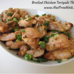 Broiled Teriyaki Chicken Thighs Recipe