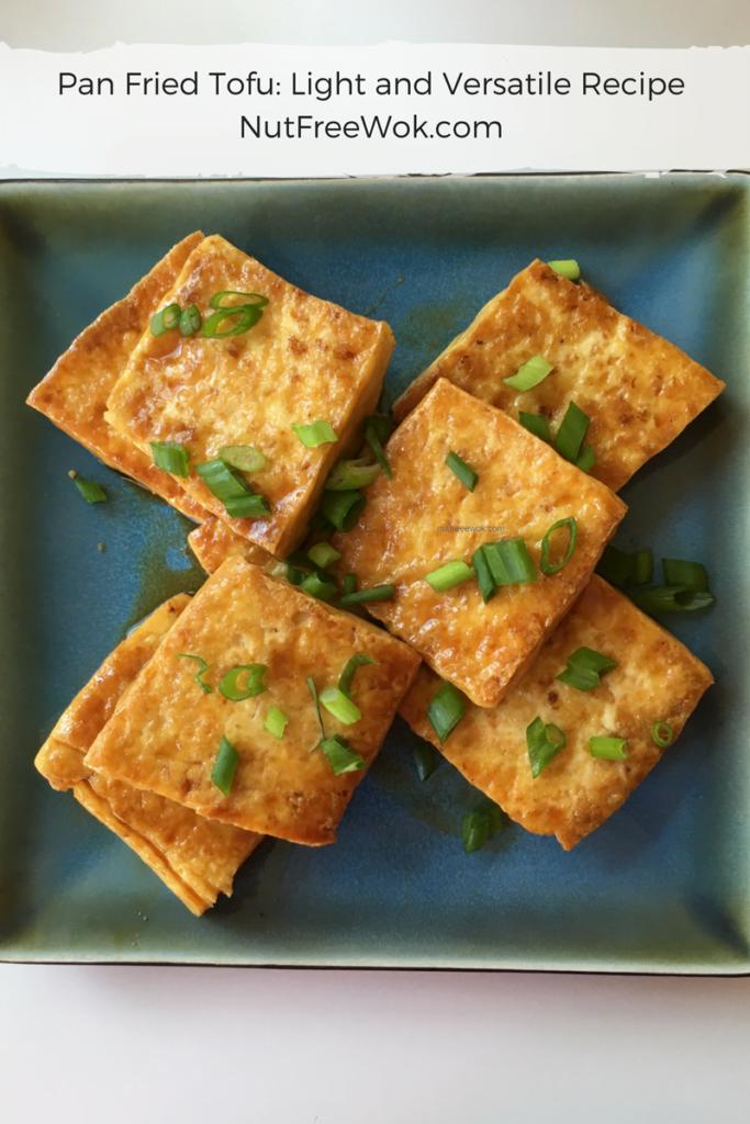 Pan Fried Tofu Nut Free Wok