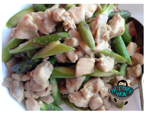 Asparagus with Chicken Stir Fry
