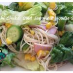 Hiyashi Chuka: Cold Japanese Noodle Salad