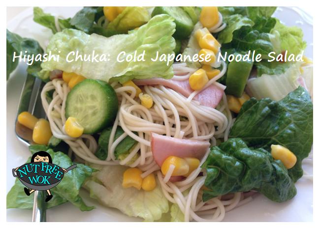 Hiyashi Chuka is the perfect meal on a hot day!