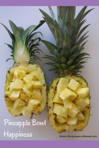 Pineapple BowlHappiness