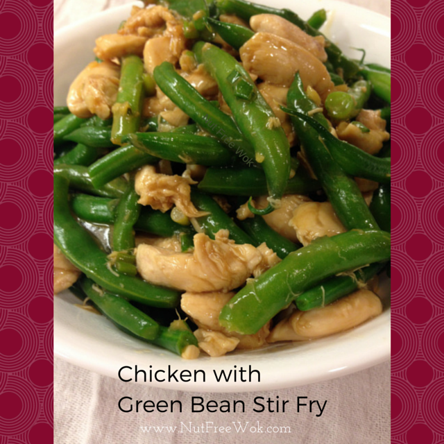 Quick & Easy Chicken with Green Bean Stir Fry - Nut Free Wok
