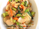Rice Ovalettes with Pork and Vegetables Stir Fry Recipe (Chao Nian Gao). This pork and vegetable stir fry with Korean rice ovalettes is loaded with colorful vegetables, and very satisfying. It's free of 6 out of 8 top allergens and can be easily adapted to be soy free and/or gluten free as needed. nutfreewok.com