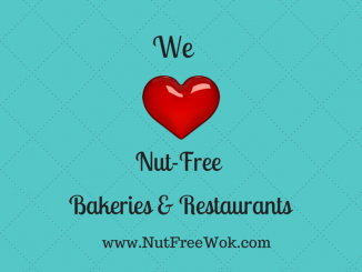 We Love Nut Free Bakeries and Restaurants, tips to eat out safely and find the bakeries by location