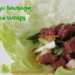 Wagyu Sausage Lettuce Wrap