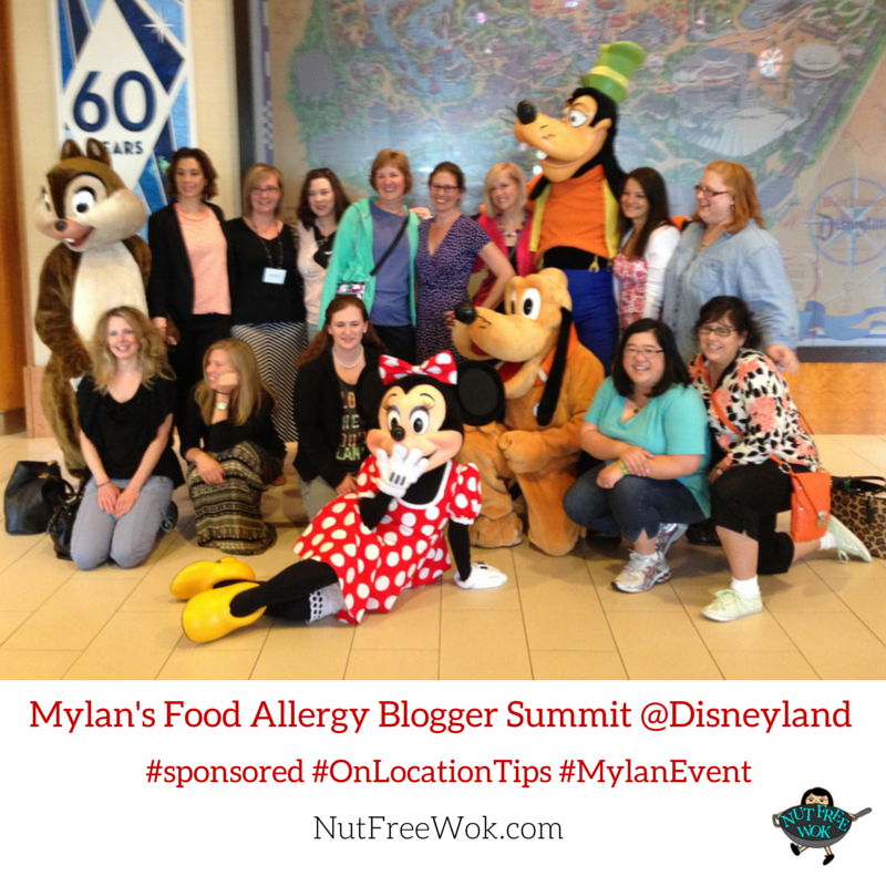 Mylan's Food Allergy Blogger Event