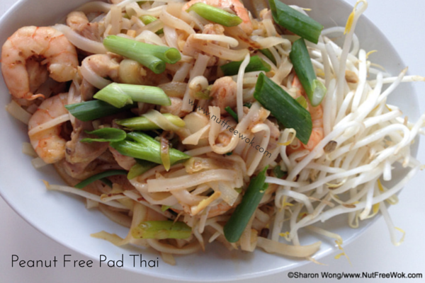 Peanut Free Pad Thai that you can eat