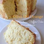 Olive Oil Orange Chiffon Cake Recipe