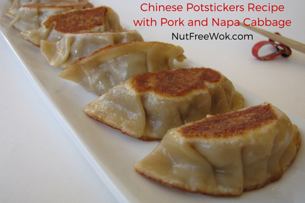 Lemongrass Chicken Pot Stickers Recipe