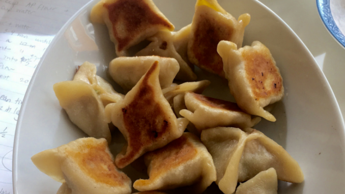 Make Chicken Potstickers From Scratch Recipe