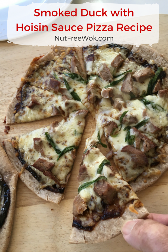 Smoked Duck with Hoisin Sauce Pizza Recipe & Smart Flour Foods Review ...