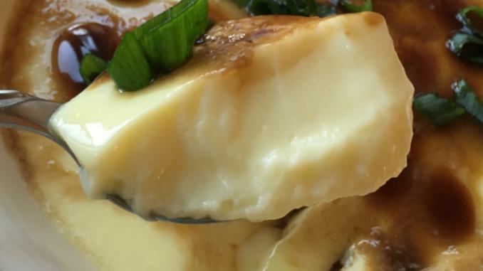 Easy Chinese Steamed Egg Custard Recipe NutFreeWok.com