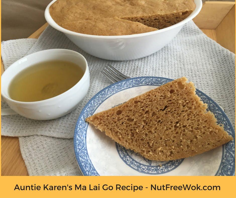 Auntie Karen's ma lai go recipe nut free wok