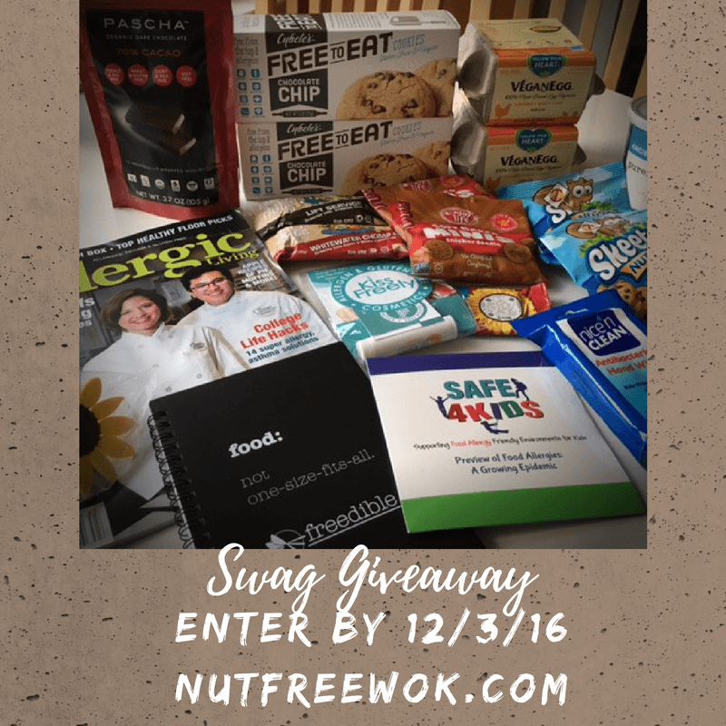 FABlogCon 2016 Swag Giveaway Nut Free Wok