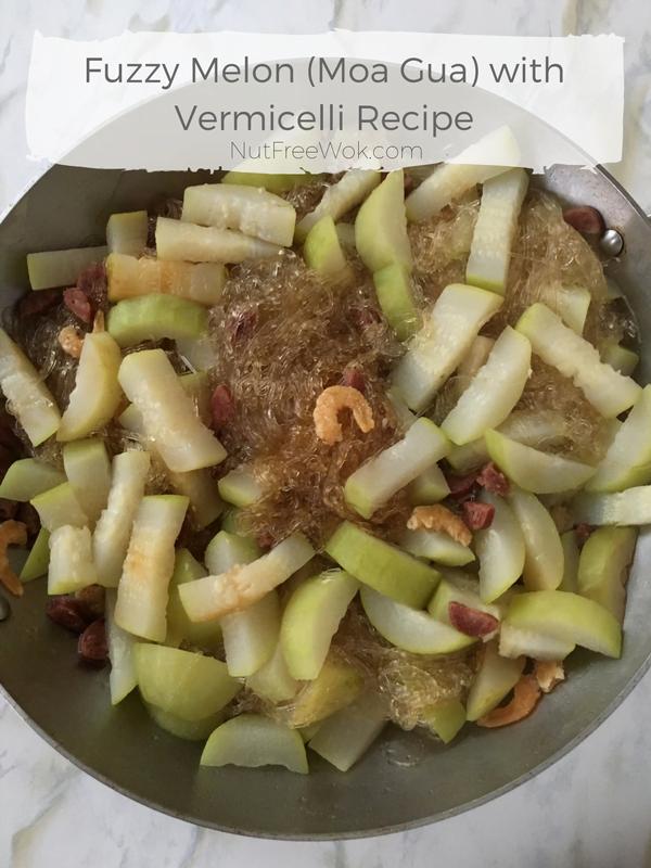 Fuzzy Melon (Moa Gua) with Vermicelli Recipe
