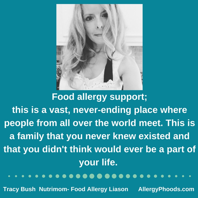 Tracy Bush food allergy support