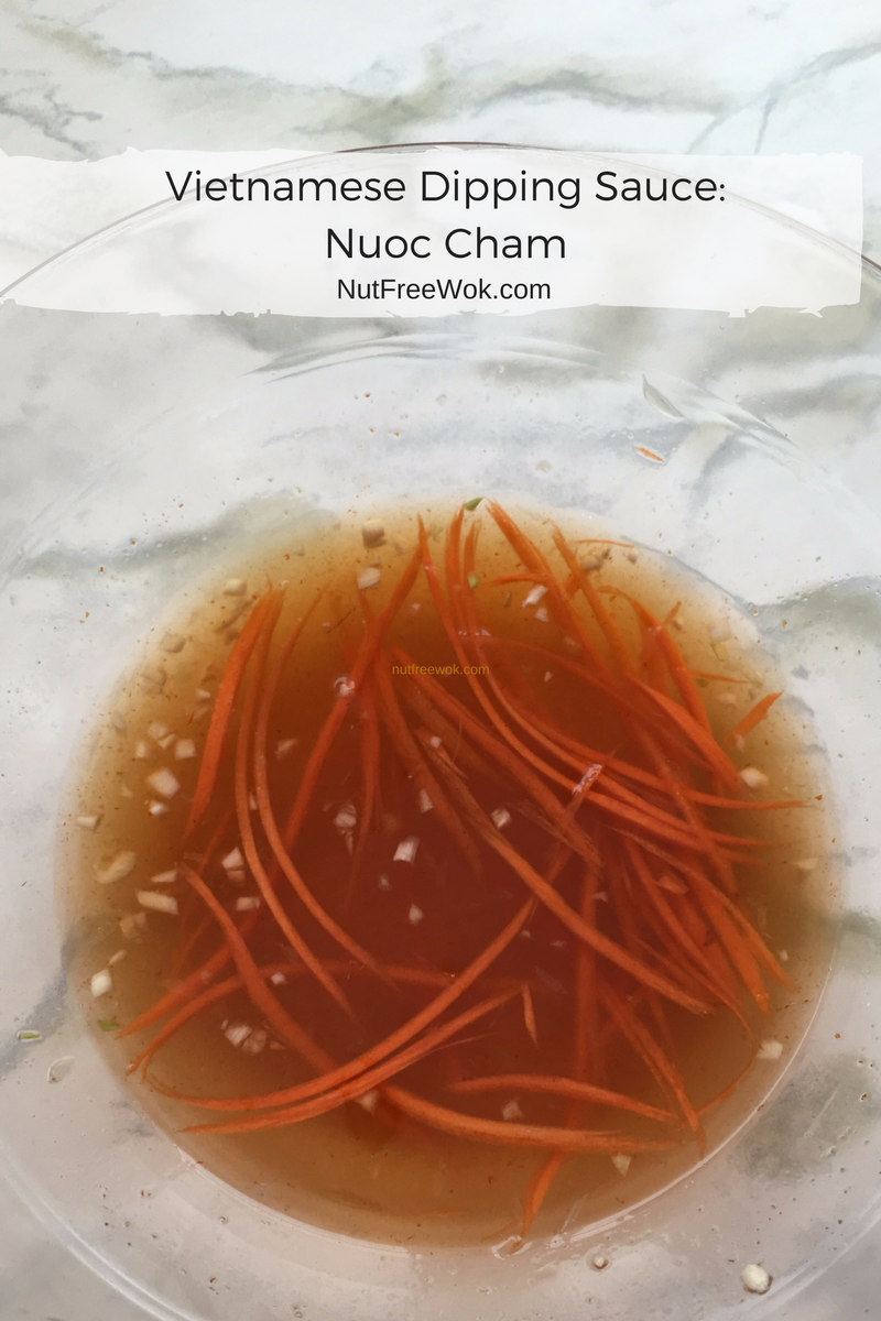 Vietnamese Dipping Sauce: Nuoc Cham
