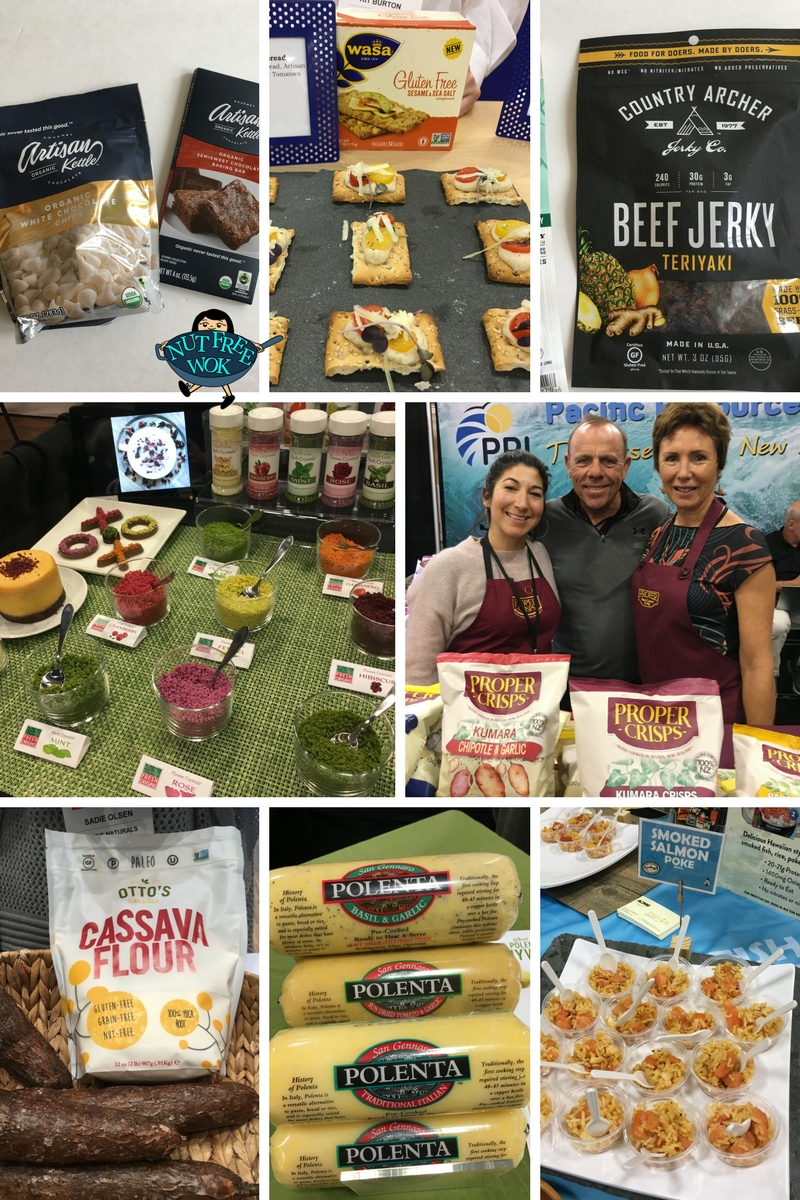 Nut Free Food Finds at WFFS18 Nut Free Wok