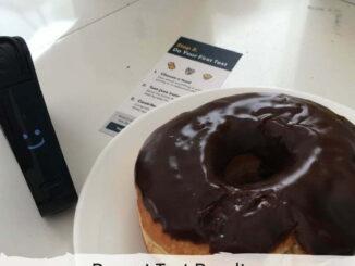 Chocolate donut nima peanut test result :)