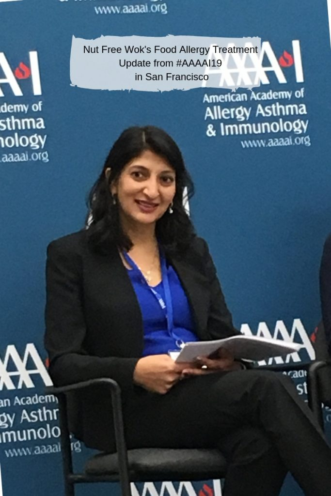 Dr. Ruchi Gupta shares her latest research on sesame allergy in the US during a AAAAI oress conference.