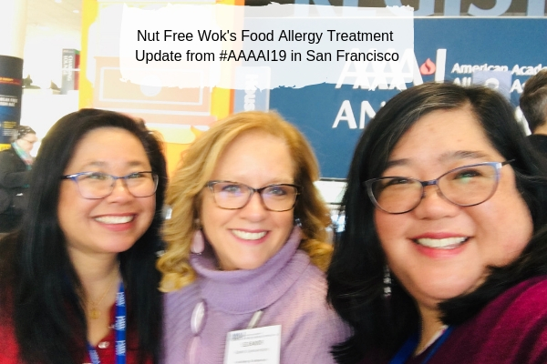 Lori and Sharon with Eleanor Garrow-Holding at #AAAAI19